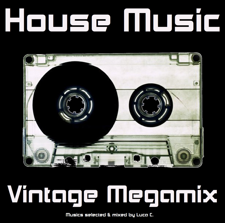 House Music Vintage Megamix - front